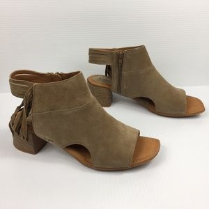 b.o.c. Verona Sandals in Tan Suede NEW